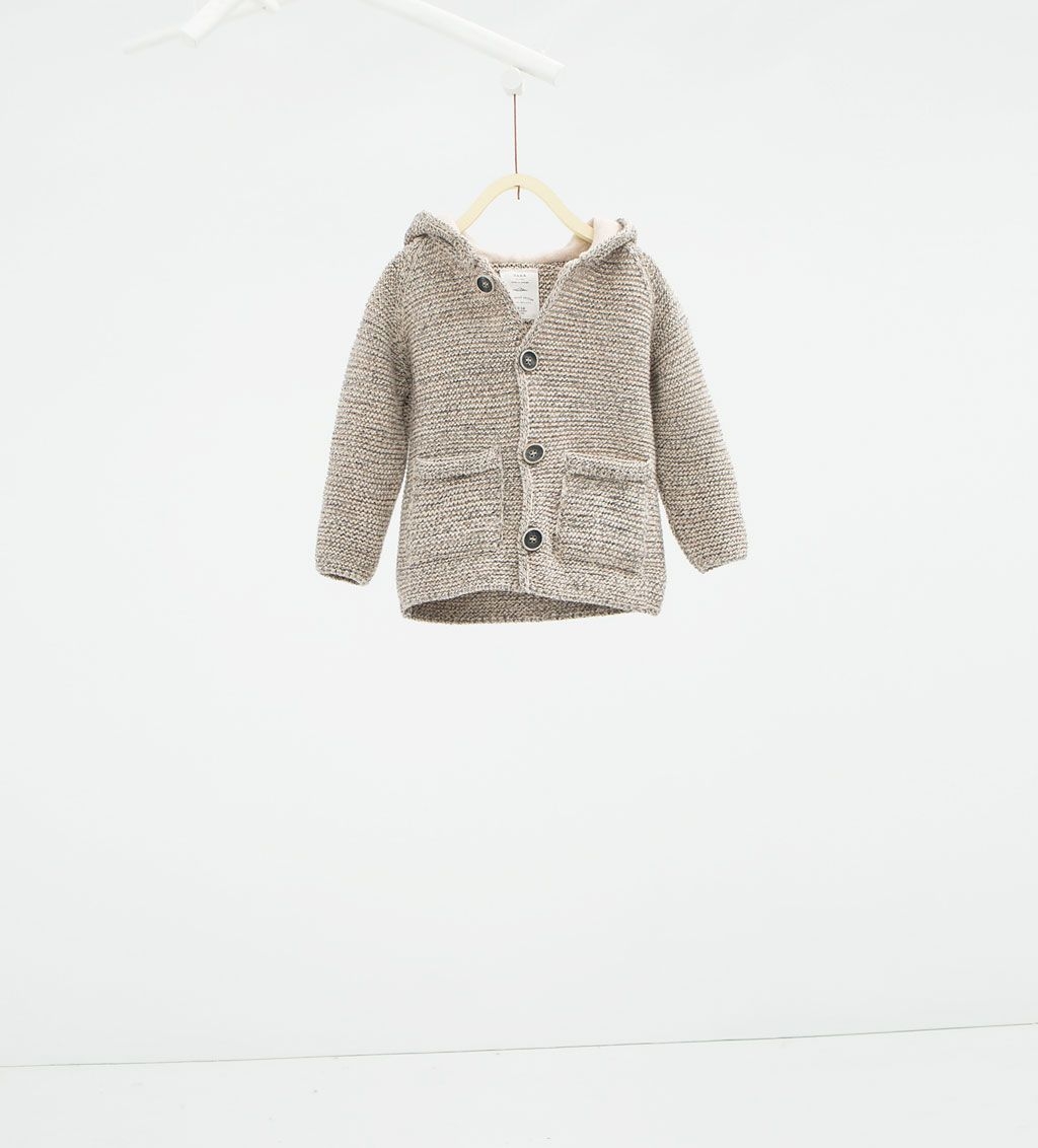3c679f0b9 Image 1 of Hooded jacket with ears from Zara