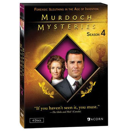 Murdoch Mysteries: Season 4 Dvd & Blu-ray - DVD #bluray