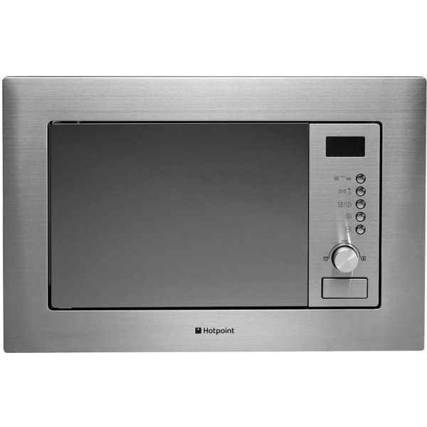 Hotpoint Mwh122.1X Built-In Microwave Oven With Grill And Optional... ($230) ❤ liked on Polyvore featuring home, home improvement and household appliances