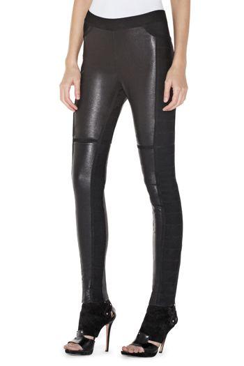 Herve Leger Paz Leather Pant Price: $1,179.00