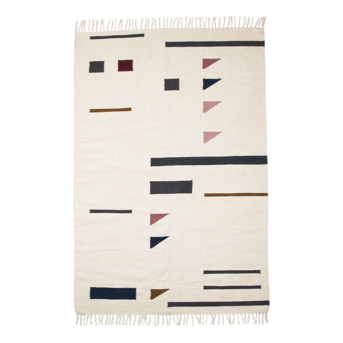 Kelim Rug Colour Triangles von ferm Living