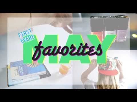 Ladies and gents, here are my favorites for May ^^ Mentioned in the vlog: Brené Brown's Ted talk The Gifts of Imperfection Sophie's World My bracelet is sold out sorry guys! :( Chanel nail polish Baseball cap