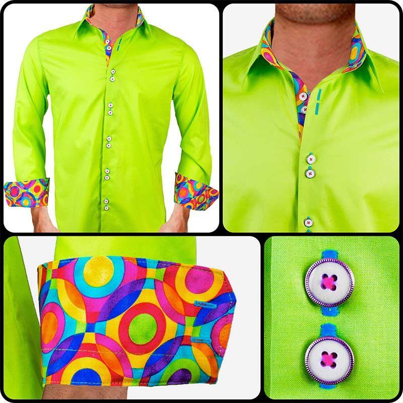 Colored dress shirts