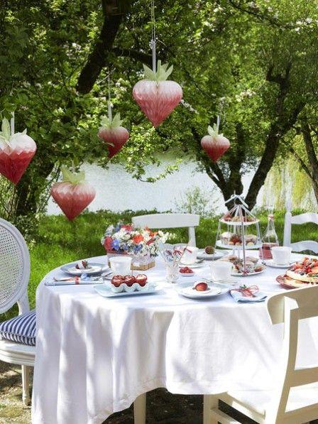 Kreative Tischdeko Fur Den Garten Decoration