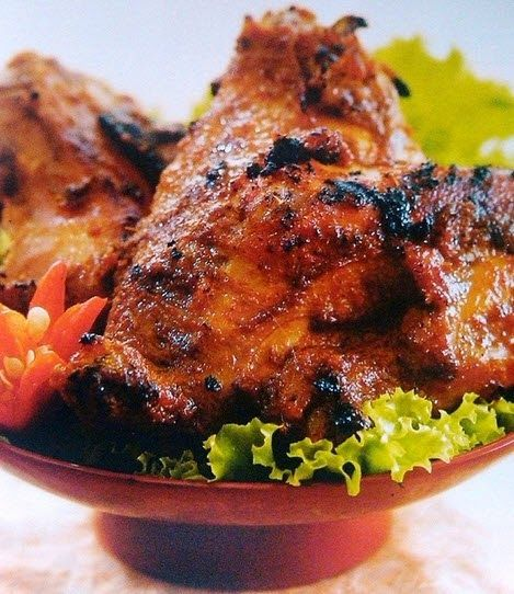 Resep Bumbu Ayam Bakar Khas Wong Solo Asli Resep Ayam Resep Masakan Masakan Indonesia
