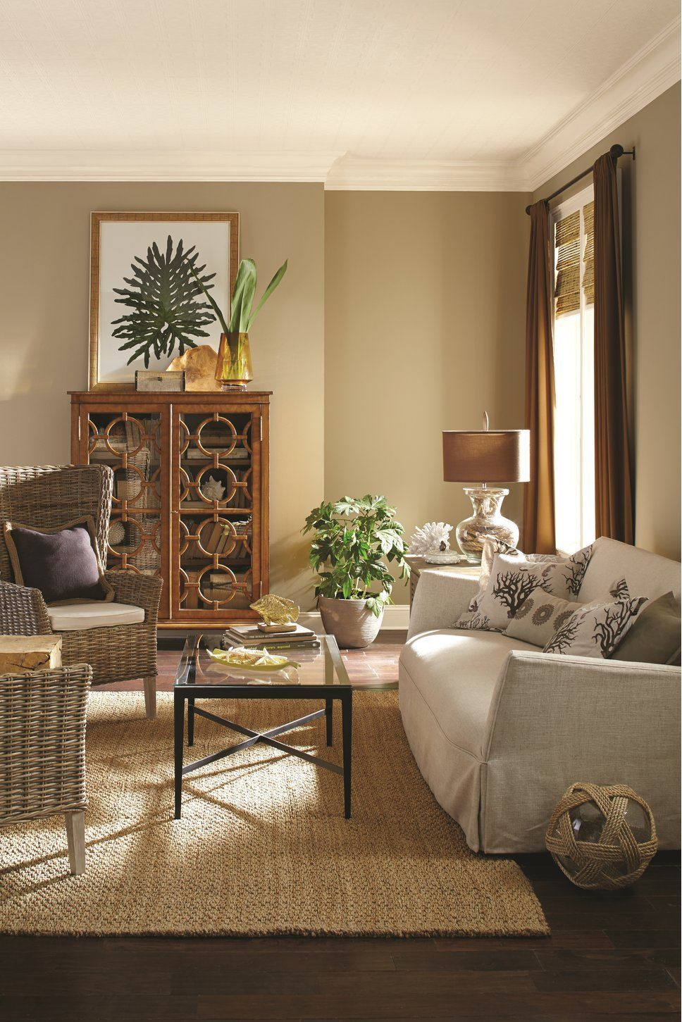 Love this beautiful living room setup. Beautiful colors ...