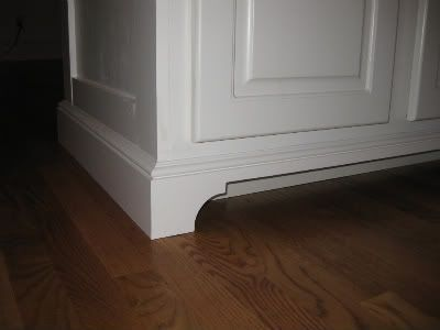 sieguzi suggests kitchen base cabinet toe kick valance for ...