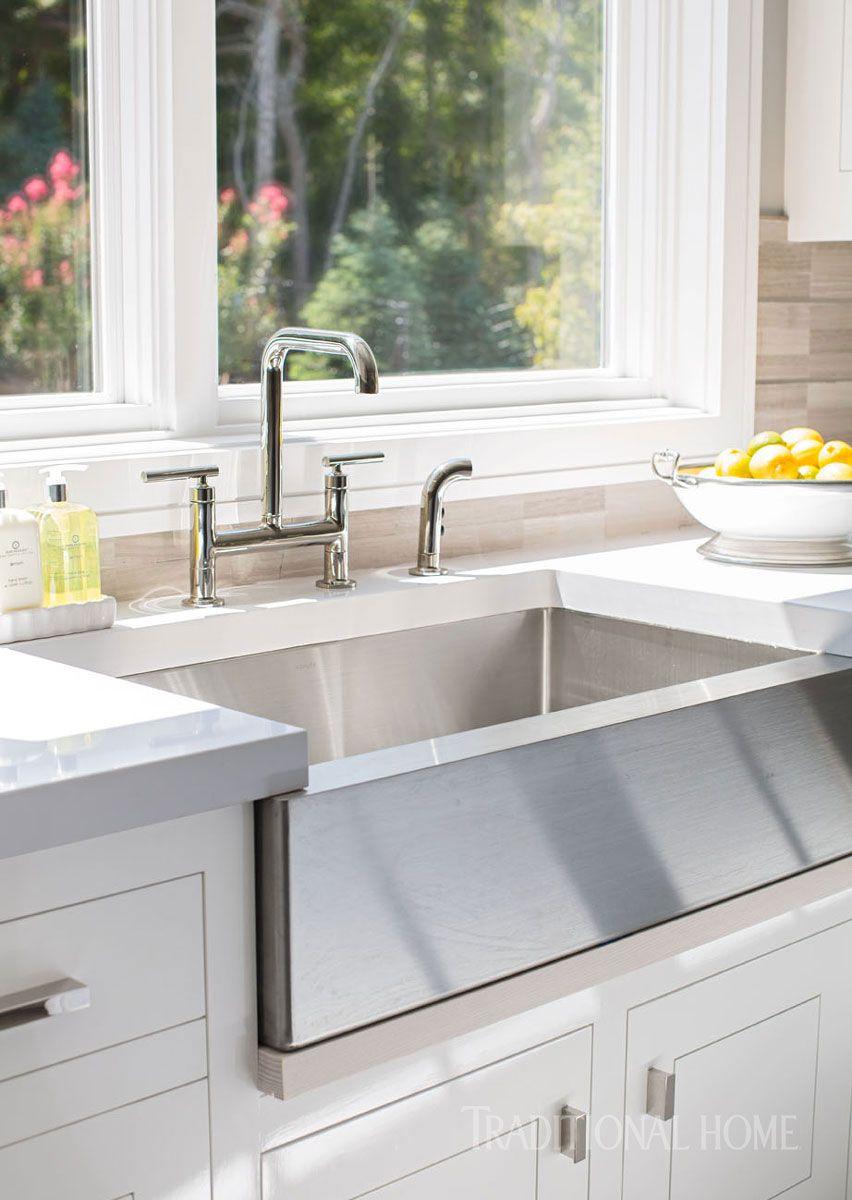 Glimmering Showhouse Kitchen Cottage Kitchen Decor Kitchen