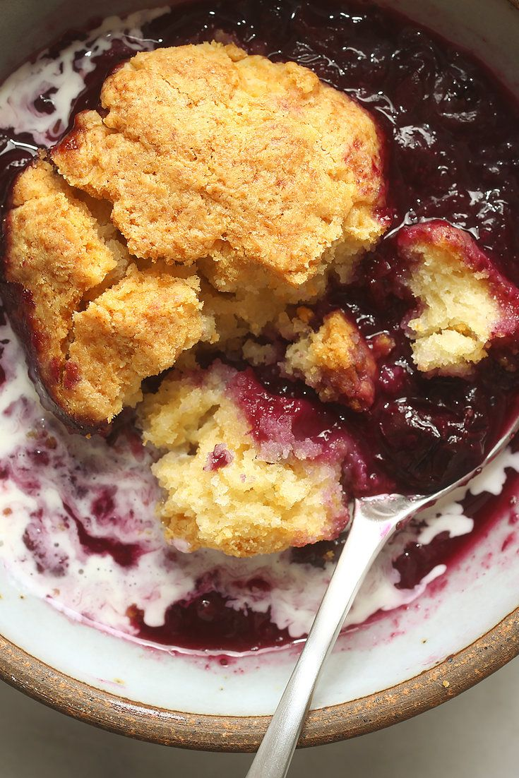 Chez Panisse's Blueberry Cobbler Recipe