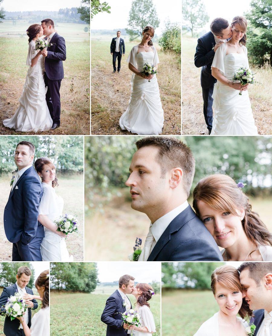 Paarfotos Braut und Bräutigam in Fuchslug, Ullrichsberg, Hochzeit im ...