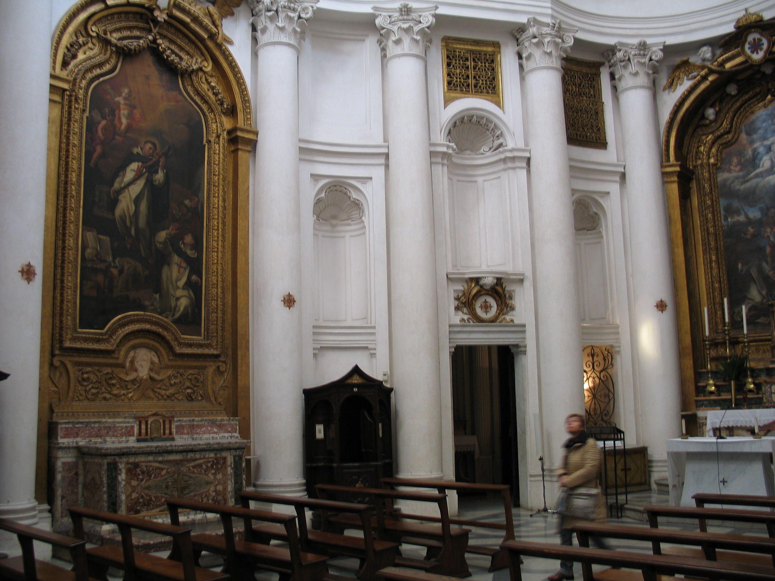 Borromini. San Carlo alle Quattro Fontane, Roma. Interior ...