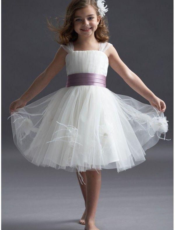 Flower Girl Dresses Uk Ivory Children Bridesmaid Missydress For Girls 600x789