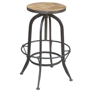 Excellent Industrial Round Reclaimed Wood And Iron Stool India Ibusinesslaw Wood Chair Design Ideas Ibusinesslaworg