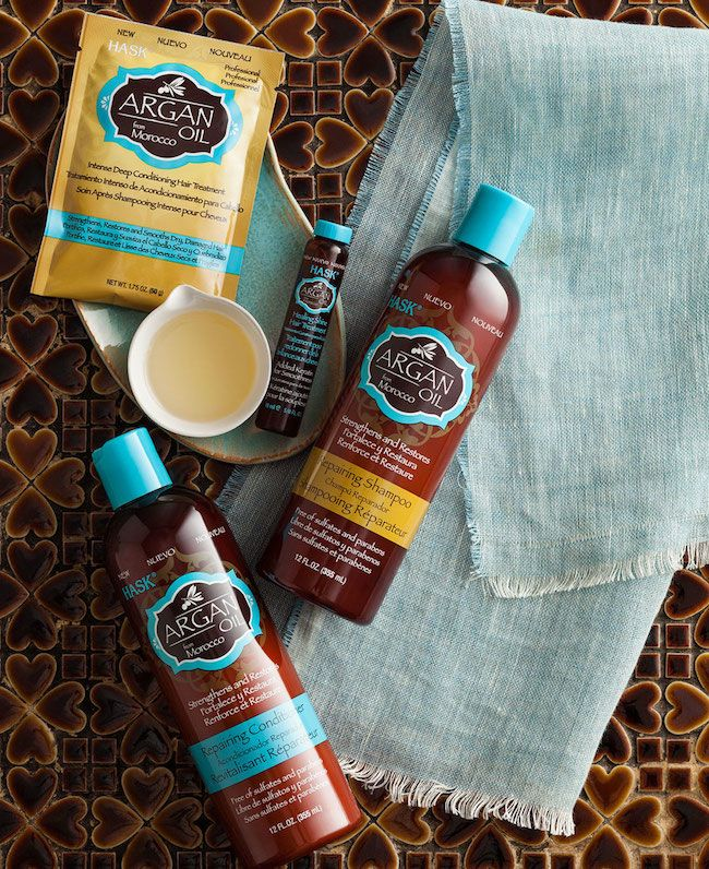 Hask Argan Oil and Keratin Protein Smoothing Haircare