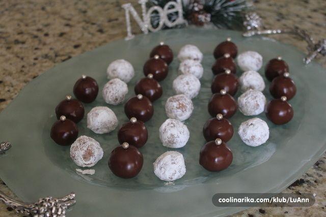 Cokoladne kuglice sa kikiriki maslacem — Coolinarika
