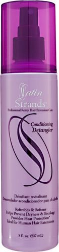 Satin Strands Professional Remy Hair Extension Care Conditioning Detangler - 10 oz with a FREE Mini Net Bath Sponge >>> This is an Amazon Affiliate link. Be sure to check out this awesome product.