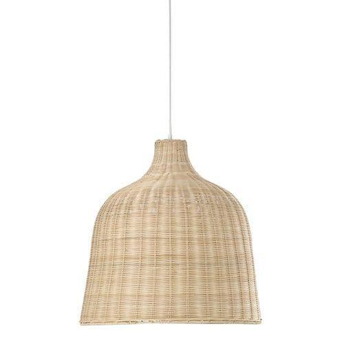Suspension tressée en osier D 51 cm | Pendant lamps, Decorative ...