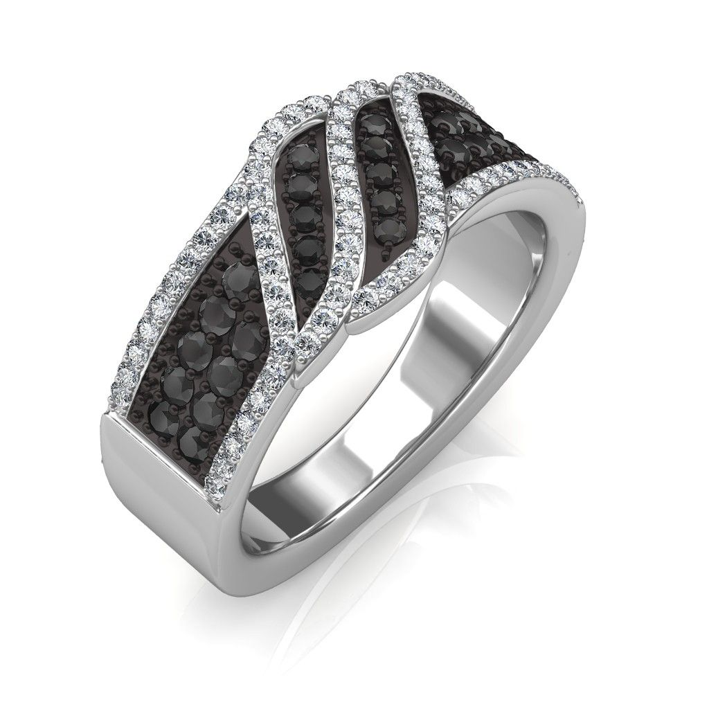 The Imperia Black Diamond Ring Jewellery At Best Prices In India