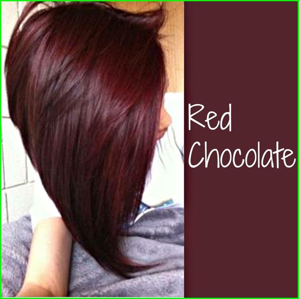 Il cioccolato ha coperto Cherry Colore dei capelli 7760 Rosso cioccolato di capelli Colore Rosso