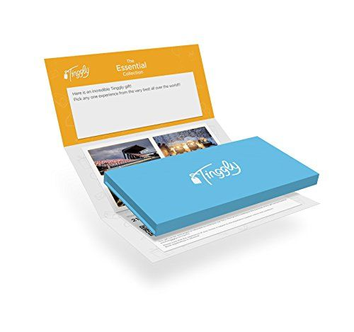 Worldwide Experience Gifts Essential Tinggly Voucher//Gift Card in a Gift Box