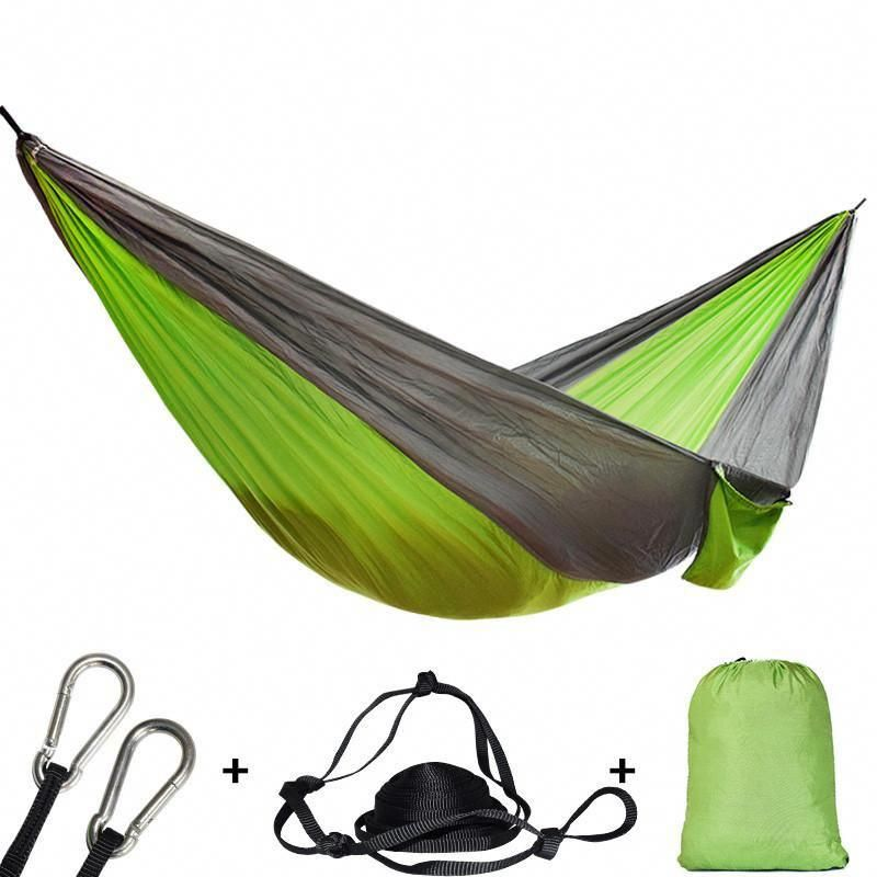 Sports & Entertainment Portable Garden Nylon Hammock Swinghang Mesh Net Sleeping Bed Hamaca For Outdoor Travel Camping Hamak Blue Green Red Hamac Camping & Hiking