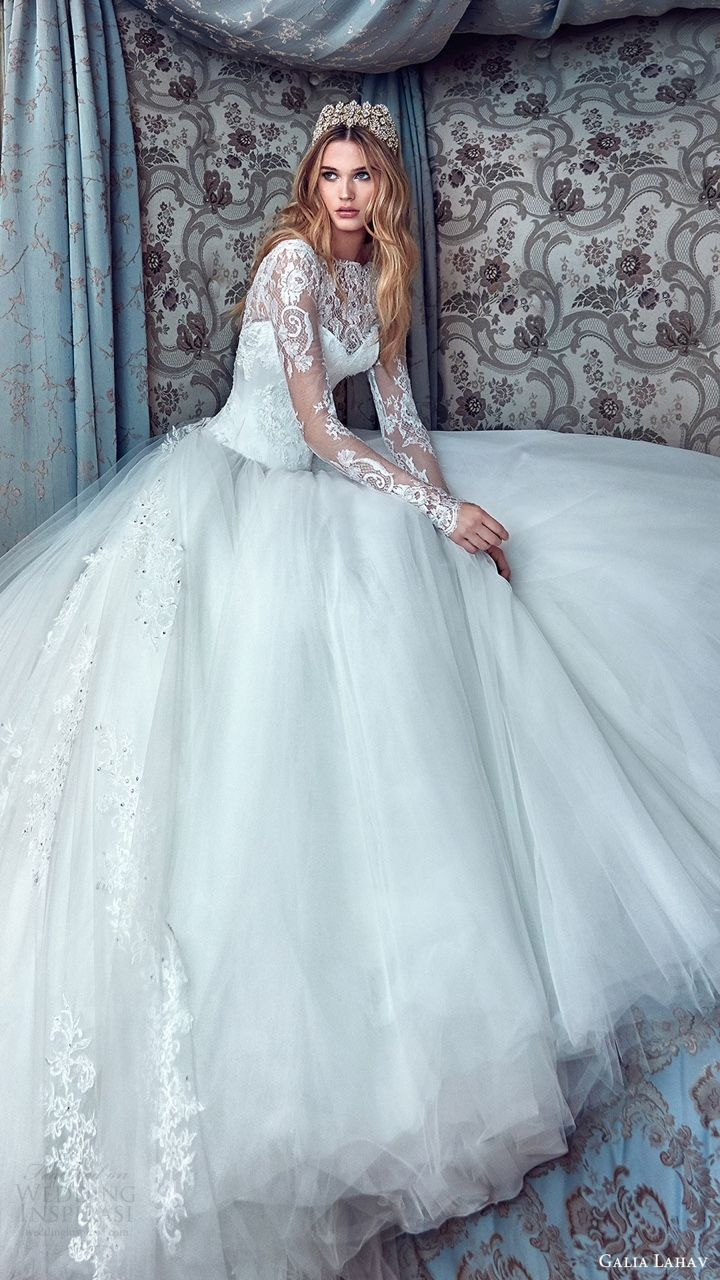galia lahav bridal spring 2017 http://www.weddinginspirasi.com ...
