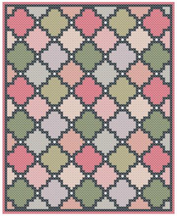C2C crochet pattern - Corner to corner - C2C crochet - Geometric ...