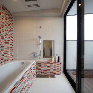 Moderne badkamers van 加門建築設計室