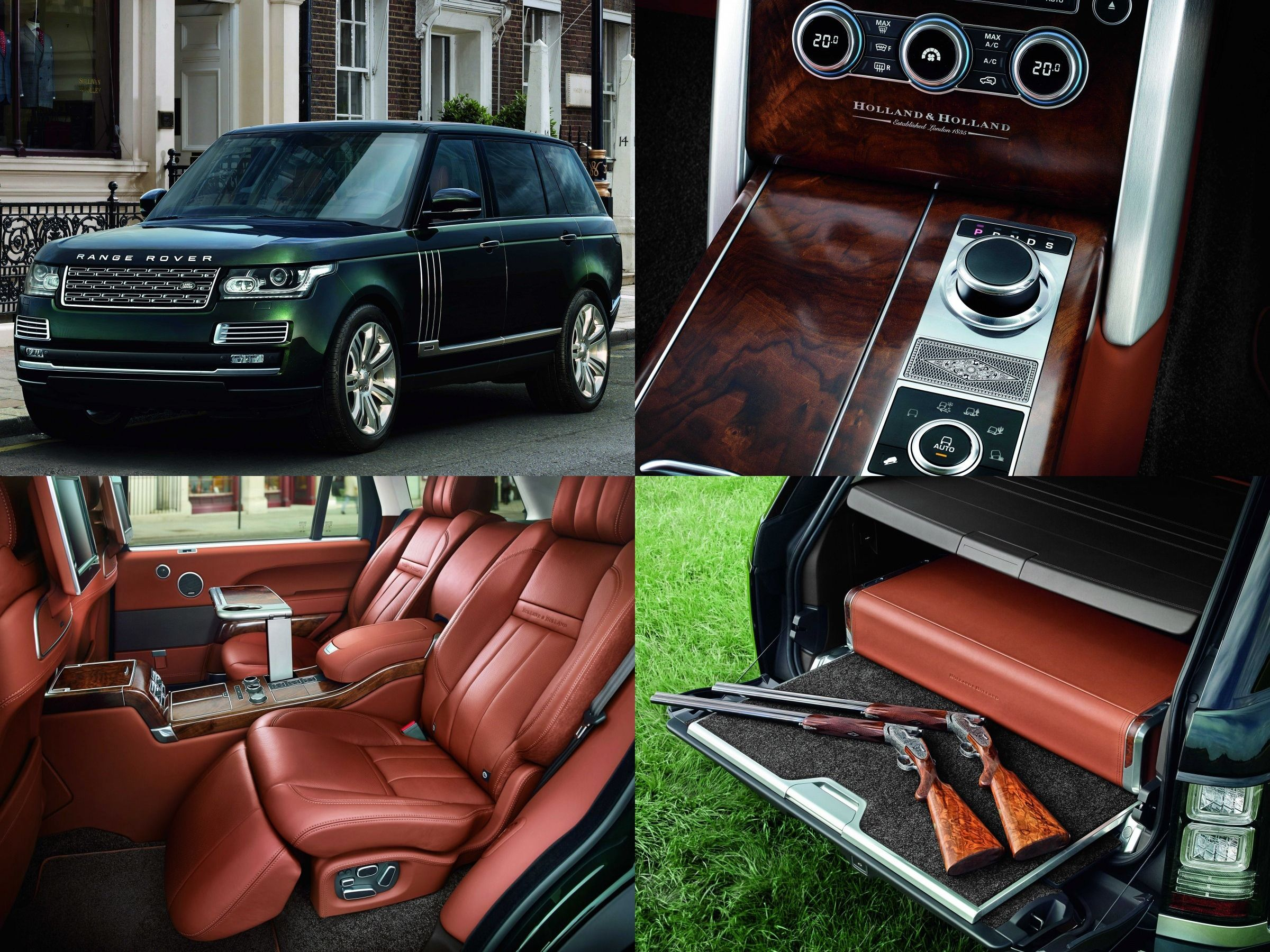 Range Rover Holland Holland Range Rover Supercharged Range Rover New Cars