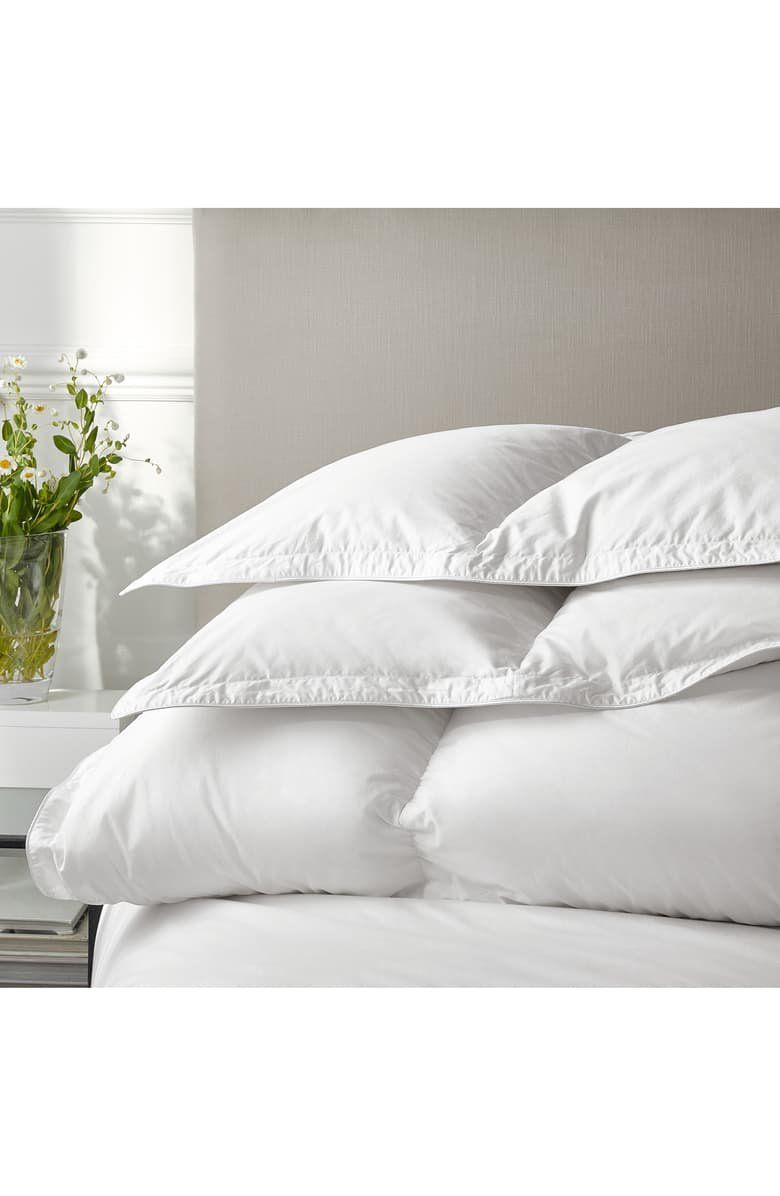 Sleep In A Cloud Of Cozy Bliss Via This Luxe Comforter With The Loftiest Of Goose Down Fills And A Feath Down Comforter The White Company White Company Bedding