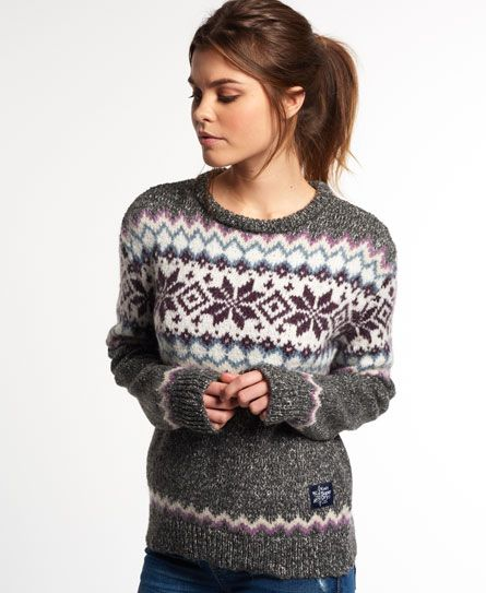 Superdry Fairisle Snowflake Jumper | My Imaginary Closet ...