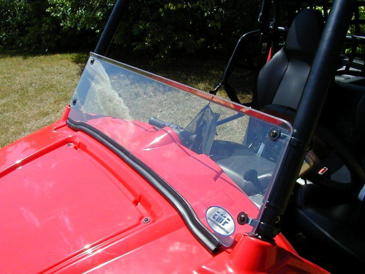 A lot of Polaris RZR owners find themselves wanting a windshield to help protect from the elements. There are now several Polaris RZR windshield options on the market and with this post we hope to simplify things and narrow down your search.  The 3 basic types of Polaris RZR windshields are full, half, folding / tilting windshields.