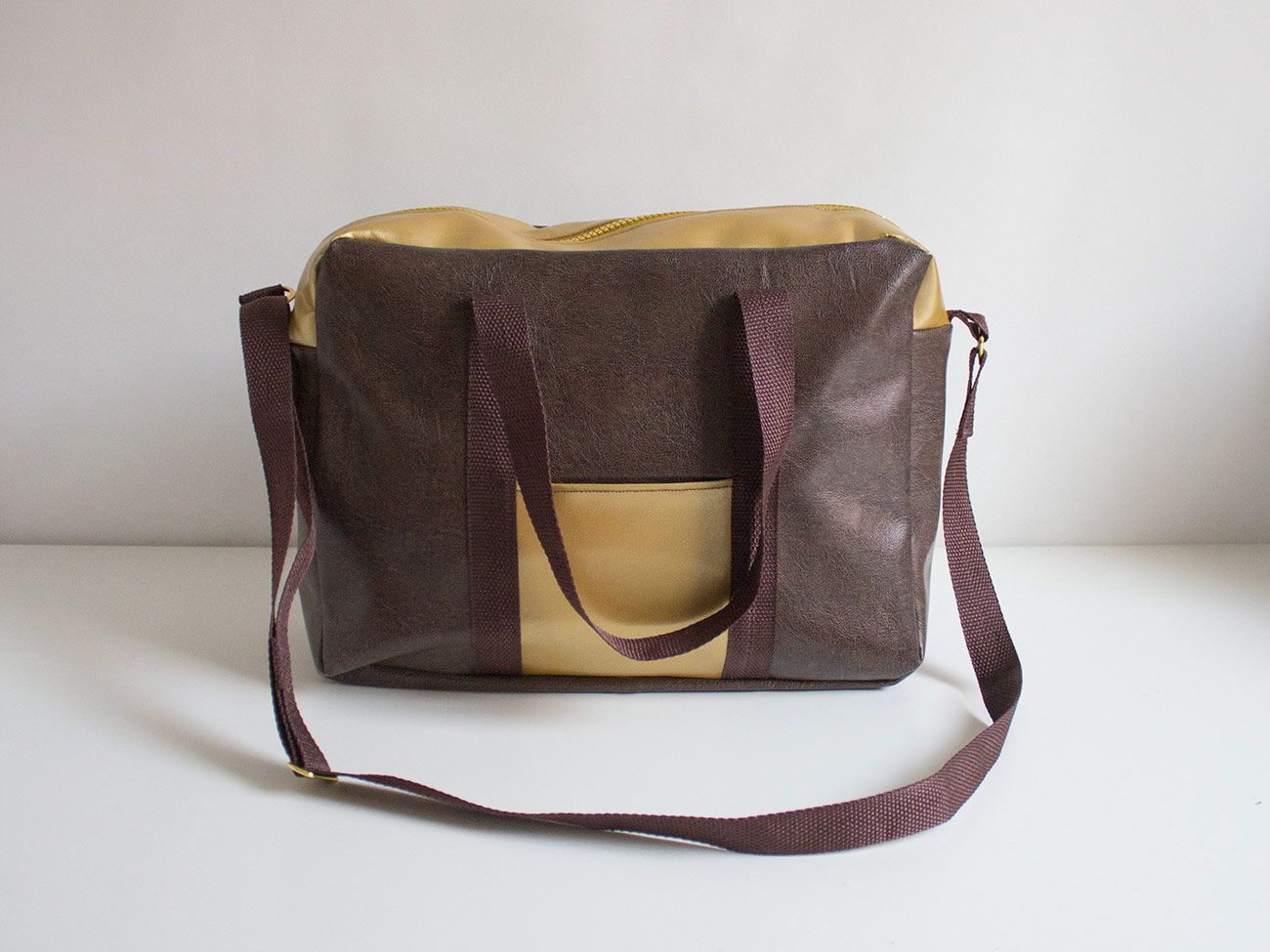 "Kostenloses Schnittmuster: Tasche ""Lotti"" | Taschen | Pinterest ..."