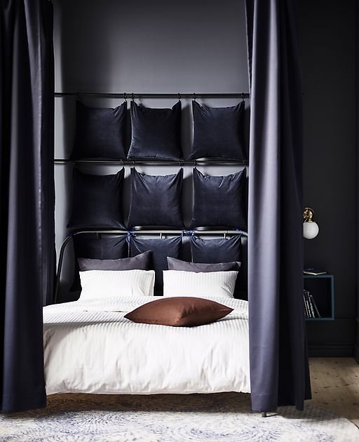 Want To Know How To Make Your Bedroom More Comfortable? Check Out These  Tips For A Cocoon Bed And Calm Spots To Read, Dine, Unwind In Your Bedroom  All Day.