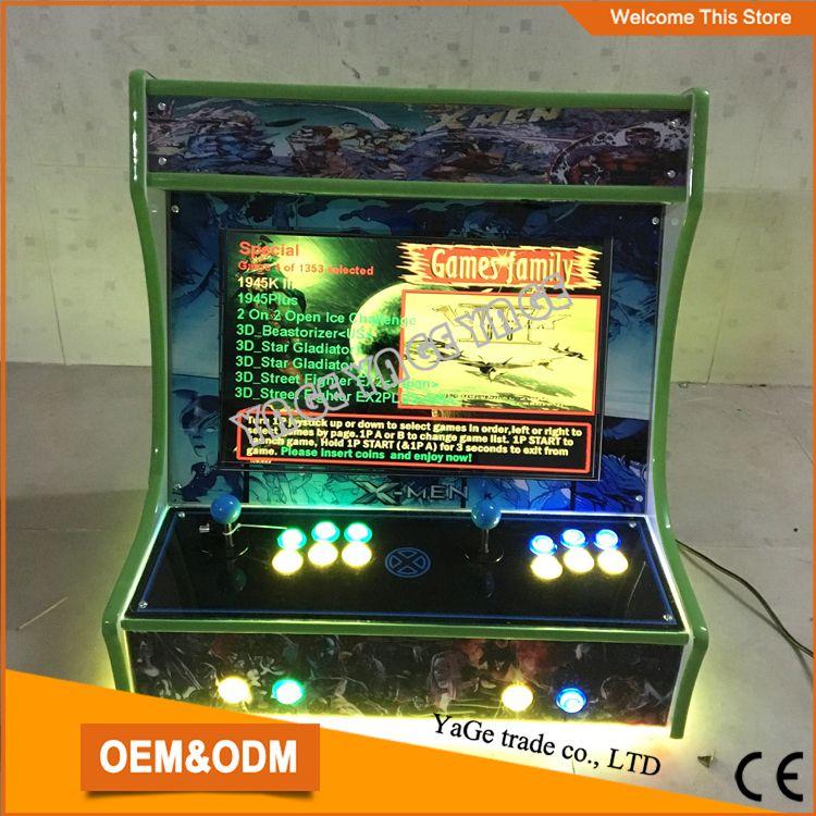 22 inch mini game machine with 2100 in 1 40G PCB/mini desktop arcade cabinet & 22 inch mini game machine with 2100 in 1 40G PCB/mini desktop arcade ...