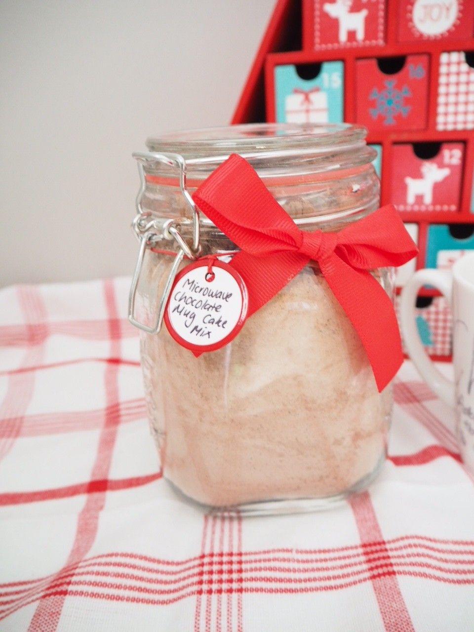 Homemade Gift - Chocolate Mug Cake Mix | Mug cake