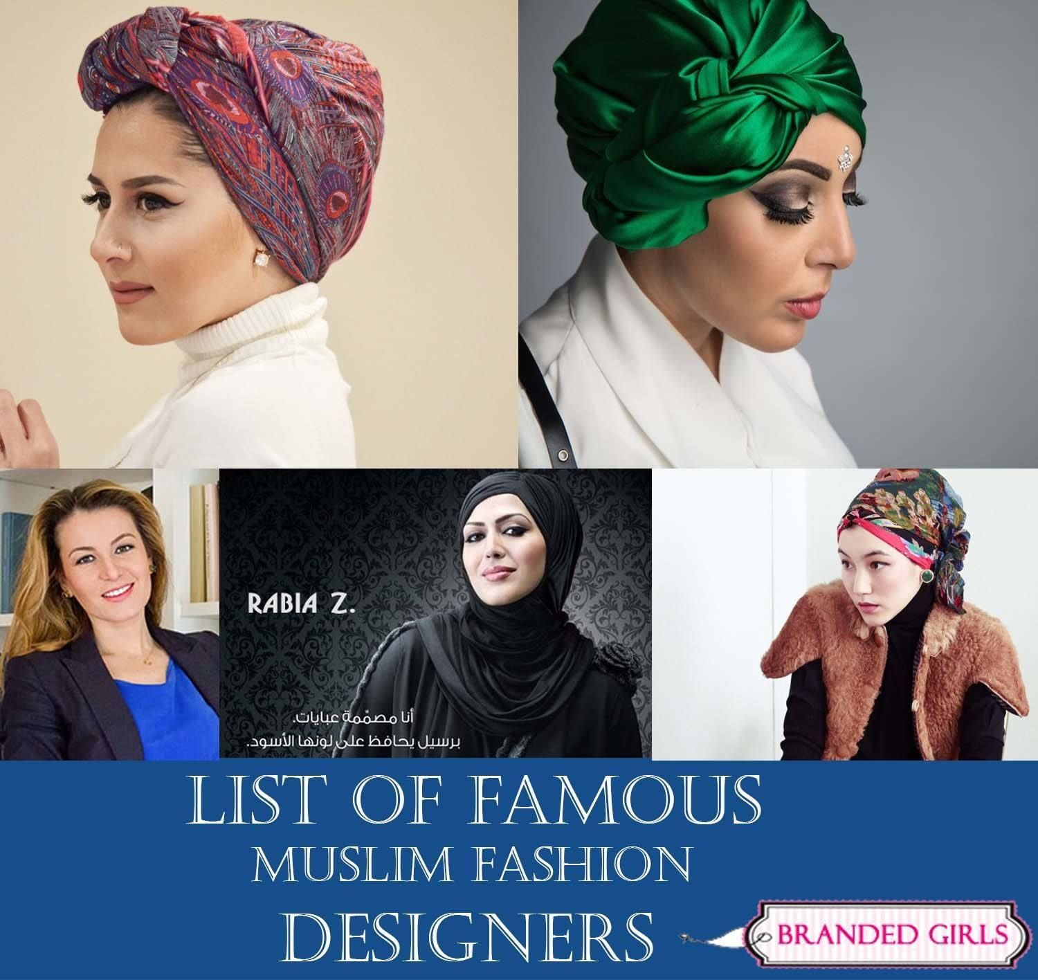 Muslim Fashion Designers List Of World S Most Famous Islamic Designers Fashion Designer List Muslim Fashion Muslim Outfits Summer