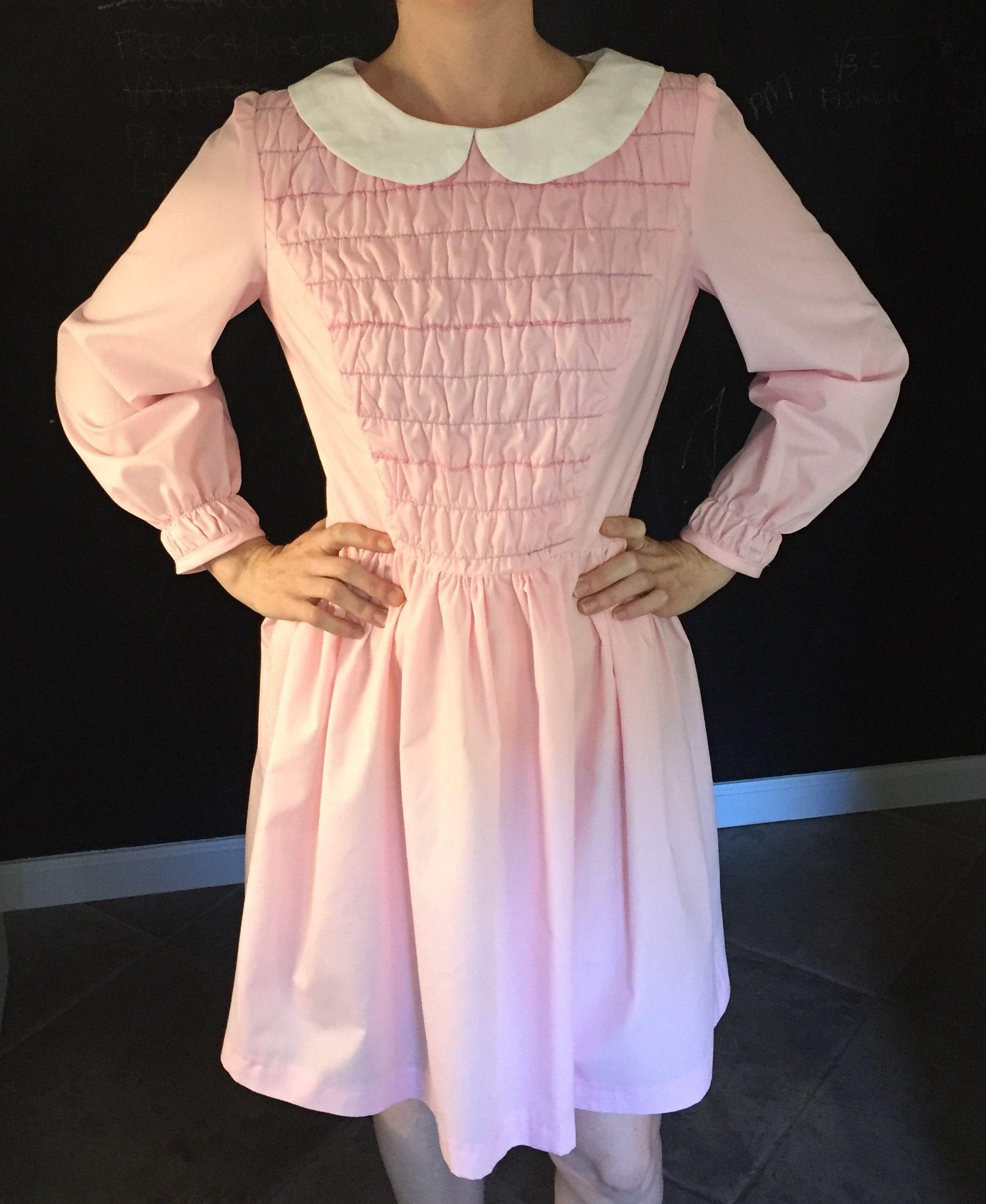 cfbe07c15d3c Stranger Things Dress - Eleven, 11, Cosplay or Halloween costume ,  handmade, pattern, Polly Flinders, Etsy, sewing pattern