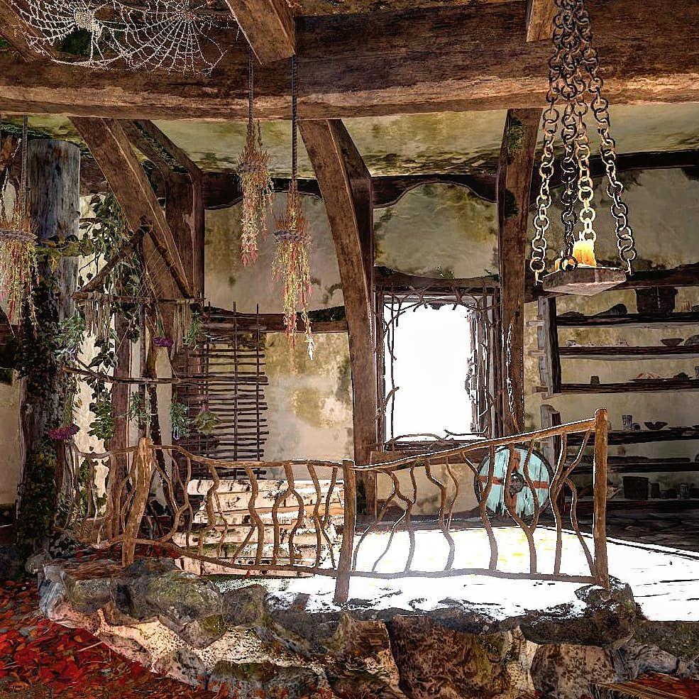 Love the Witches House.. . #GodofWar #ps4 #gamer #gamingphotography #videogames #instagamer #gaminglife #gaymer #geek #guygamer #Sony #e3 #digitalphotography #nature #pictureoftheday #societyofvirtualphotographers #GamersUnite #gamergram #horror #gamergirl #kratos #troll #LordOfTheRings #atreus #godofwar4 #ps4share #Skyrim #photomode
