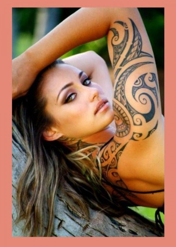 Girl Maori Tatoos: Pin By Flypz On Tats (With Images)