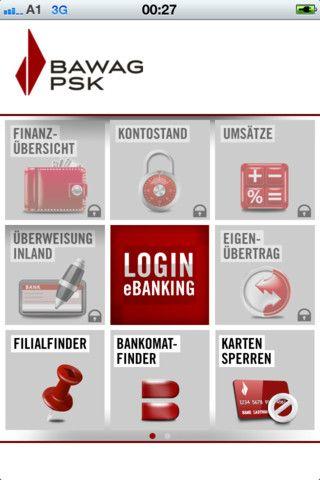 Bawag Psk Menu Iphone App Samples Pinterest Iphone App And Menu