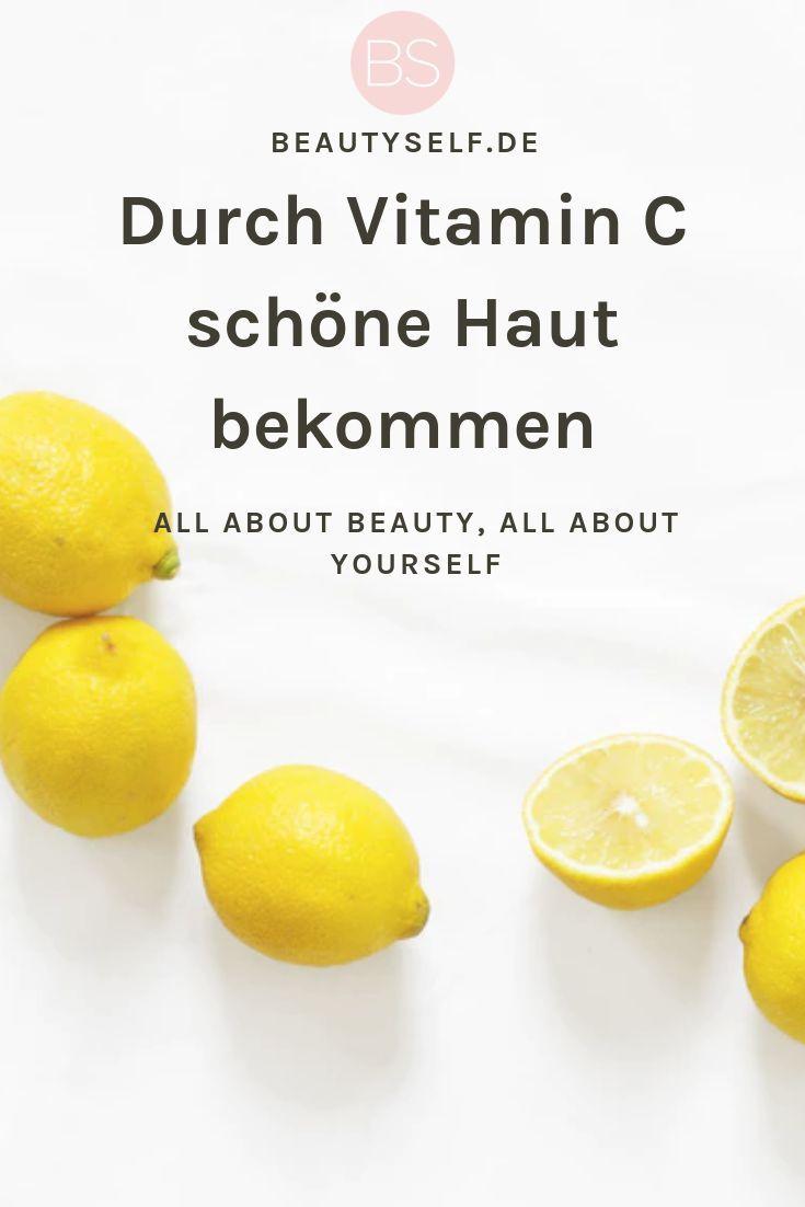 Nahrungsergänzung mit Vitamin C – Ein Alleskönner #healthyskin