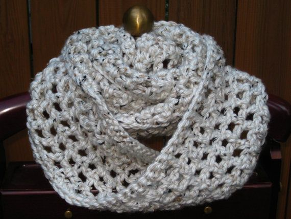 Bulky Infinity Scarf Pattern Crochet Pattern Infinity Scarf Scarf