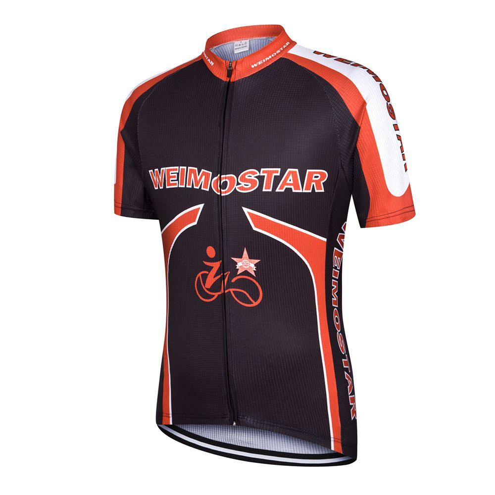 Weimostar Team Bike Cycling Jersey Tops Short Sleeve Bicycle Cycling  Clothing Ropa Ciclismo mtb Bike Jersey 14e261fd5