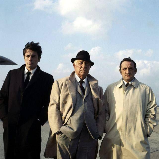 Alain Delon, Jean Gabin, Lino Ventura - Le Clan des Siciliens