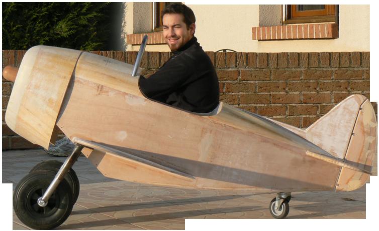 P47, avion à pédales
