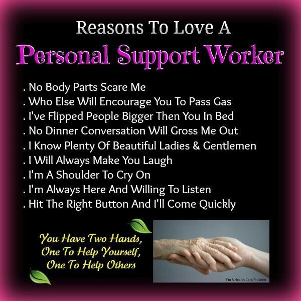the care worker poem - Google Search | Support worker ...