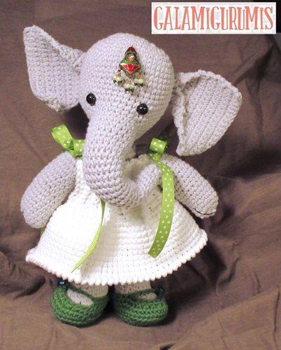 Infanta Elefanta Patrón Gratis 3 | ANIMALES de la SELVA/ de ...