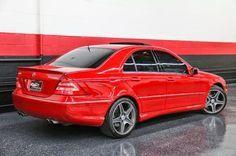 Mercedes Benz W203 C55 Amg Mars Red Merce Mercedes Benz Benz