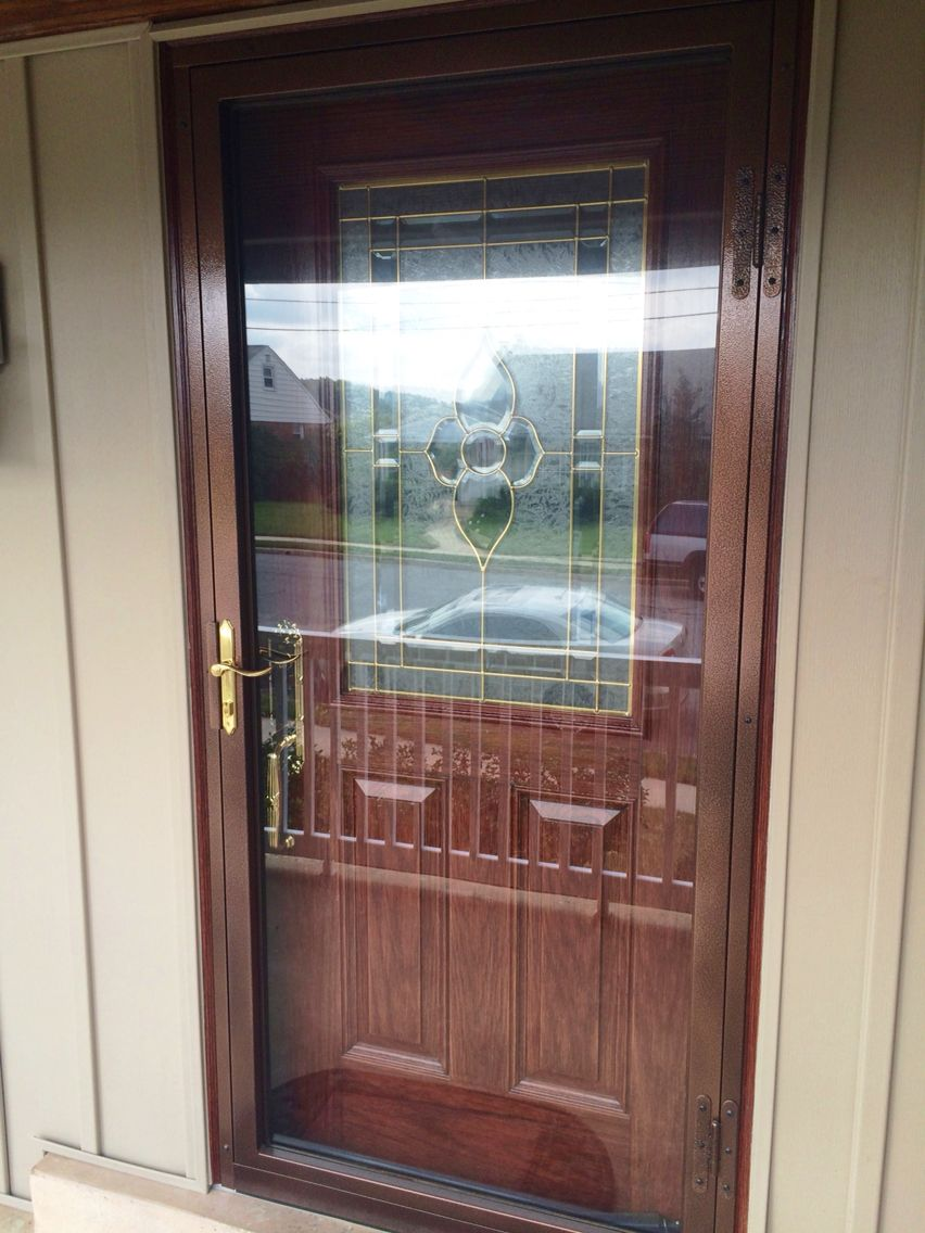 Who Wants To Cover Their Beautiful New Entry Door With A Storm Door